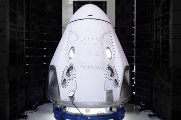 SpaceX: premier vol habité de la capsule Crew Dragon vers l'ISS prévu en mai