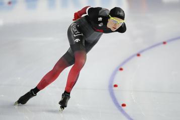 Patinage longue piste Isabelle Weidemann et Ted-Jan Bloemen triomphent à Calgary