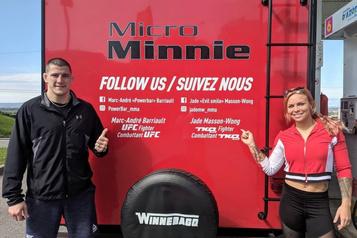 Marc-André Barriault en quête d'expérience… en roulotte