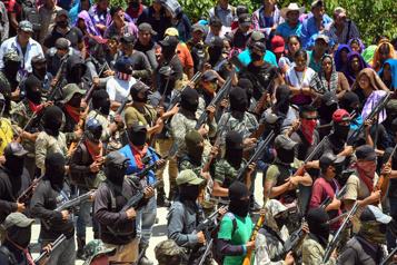 Mexique Des autochtones s'organisent en milice armée face aux gangs)