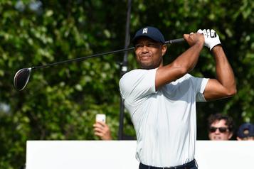 Tiger Woods se retire de l'omnium Northern Trust