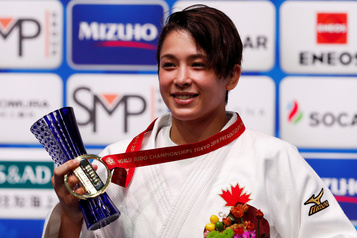 Judo: la Canadienne Christa Deguchi championne du monde