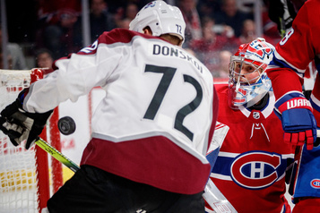 Avalanche 3 - Canadien 2 (pointage final)