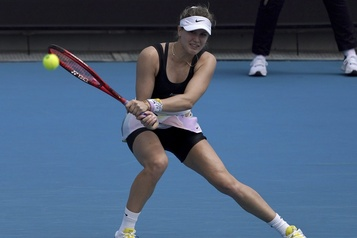 Bouchard s'incline en quarts de finale à Prague)