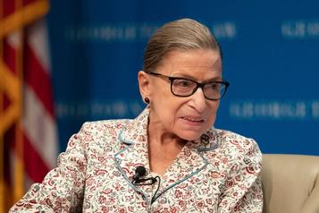 La juge progressiste Ruth Bader Ginsburg soignée pour un cancer