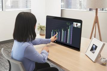 Télétravail: la plateforme de visioconférence Zoom lance sa propre tablette)