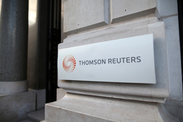 Thomson Reuters surpasse les attentes)