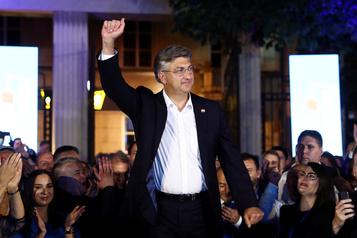 Croatie: les conservateurs sortants revendiquent une «grande victoire» aux législatives)