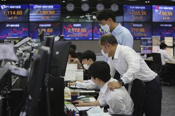 L'optimisme a prévalu jeudi sur les Bourses asiatiques)