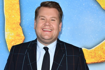 James Corden à la barre d'une spéciale de The Late Late Show