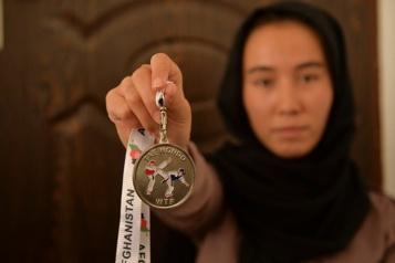 Afghanistan Les championnes de taekwondo KO face aux talibans)