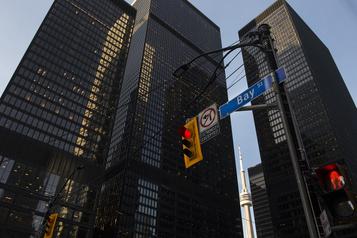 La Bourse de Toronto clôture en baisse