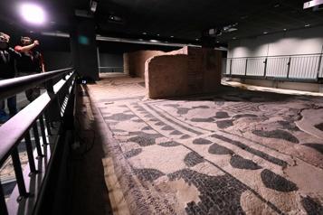 Sous un immeuble de Rome, pas de garages, mais une «boîte archéologique»)