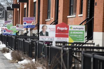 Immobilier résidentiel: la province en feu, des quartiers montréalais engourdis)