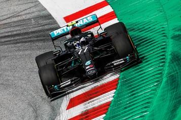 Bottas en pole en Autriche, Stroll9e)