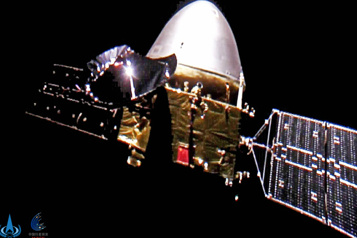 Une sonde chinoise se posera sur Mars d'ici mercredi prochain)