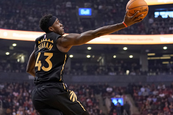 Siakam et les Raptors dominent les Knicks