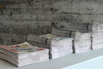 Les journaux régionaux pourraient durer jusqu'à l'été... si les crédits d'impôt arrivent