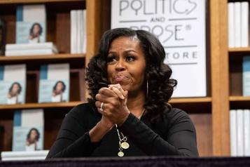 Confinement, racisme, Trump: Michelle Obama dit souffrir d'une «légère dépression»)