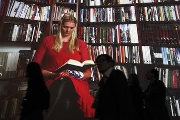 Avalanche de livres sous le sapin de Noël en Islande
