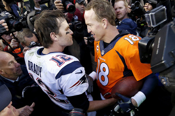 Tiger Woods et Peyton Manning VS Phil Mickelson et Tom Brady contre la COVID-19)