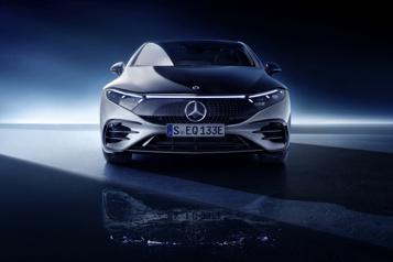 Transition électrique: Mercedes-Benz appuie sur l'accélérateur)