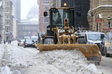Montréal déneigée à près de 40%