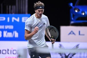 Championnat de tennis de Cologne Alexander Zverev s'offre une autre finale)