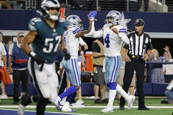 Match du lundi soir Les Cowboys battent les Eagles)