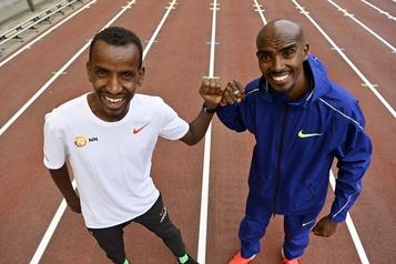 Athlétisme: le retour sur piste de Mo Farah)