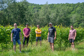 Vins québécois: cinq têtes valent mieux qu'une)