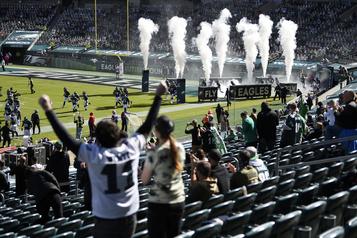 NFL Environ 7000spectateurs au prochain match des Ravens)