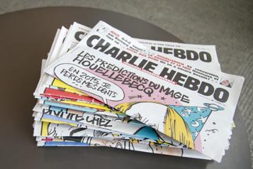 Londres Une femme portant un t-shirt Charlie Hebdo attaquée au couteau)