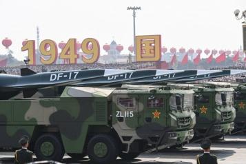 Les États-Unis «très inquiets» des missiles hypersoniques chinois