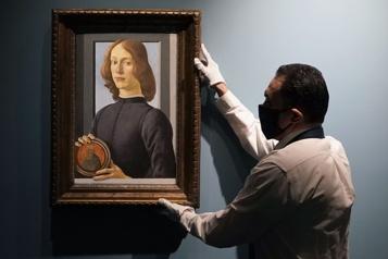 Une rare toile de Botticelli vendue 92,2millions$)