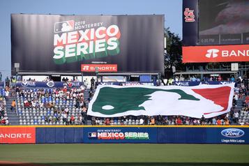 Le baseball majeur annule ses matchs au Mexique et Porto Rico