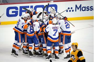 Islanders – Penguins (match #1) Kyle Palmieri joue les héros, les Islanders s'emparent du premier match)
