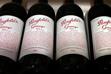 Surtaxes imposées par la Chine L'Australie «défendra ardemment» son secteur viticole)
