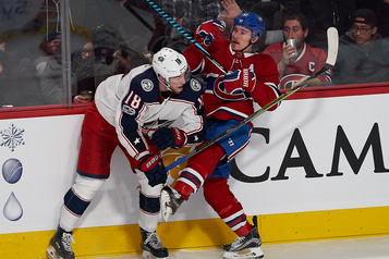 Blue Jackets c. Canadien: notre couverture en direct