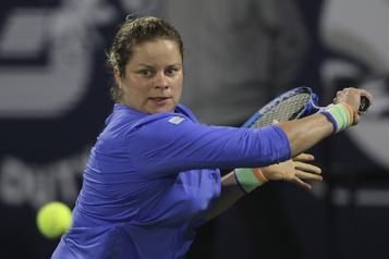 Une défaite et des espoirs pour Kim Clijsters à son retour
