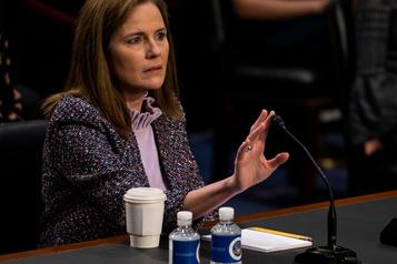 Cour suprême Le Sénat entame les débats sur la juge Amy Coney Barrett)