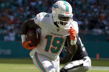Dolphins: Jakeem Grant signe un contrat de quatre ans