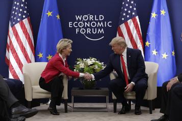 Les États-Unis et l'UE vont discuter d'un «accord commercial»