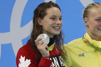 Natation Penny Oleksiak et Kylie Masse nommées sur l'équipe olympique)