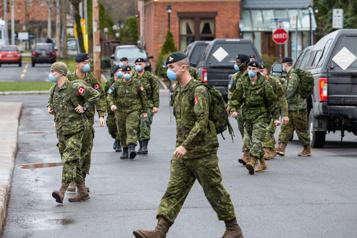 Troisième vague de COVID-19 en Ontario L'armée et la Croix-Rouge viendront en renfort)