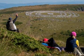 Bulgarie: un rituel «cosmique» à 2000mètres d'altitude