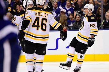 Marchand procure une victoire de 4-2 aux Bruins