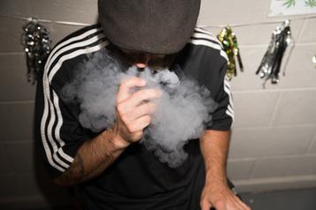 Le THC vaporisé atténuerait l'activité cérébrale