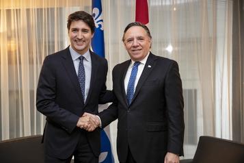 Projets de tramway au Québec: accord entre Trudeau et Legault