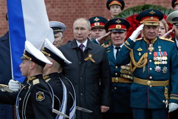 Commémorations de 1945 La Russie défendra «fermement» ses interêts, assure Poutine)